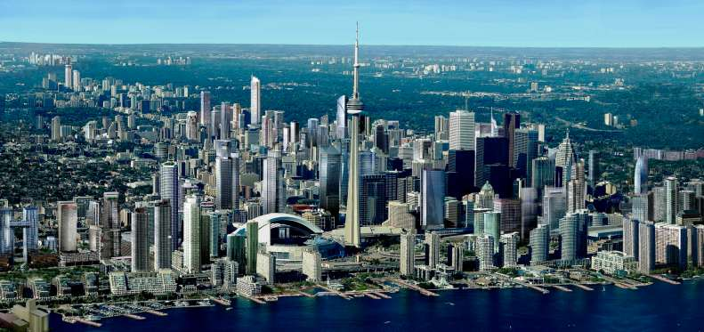 Toronto, our new city.