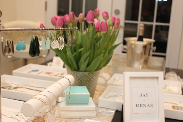 My first Jay + Renae trunk show in Toronto.